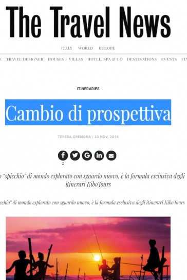 The Travel News - Cambio di prospettiva 1